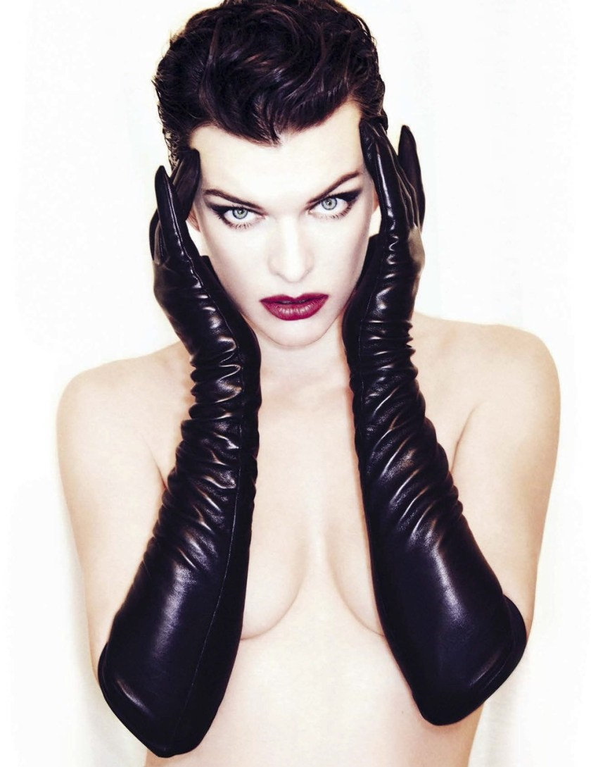 VANITY FAIR ITALIA Milla Jovovich by Ellen von Unworthy. Gaelle Bon, December 2016, www.imageamplified.com, Image Amplified1