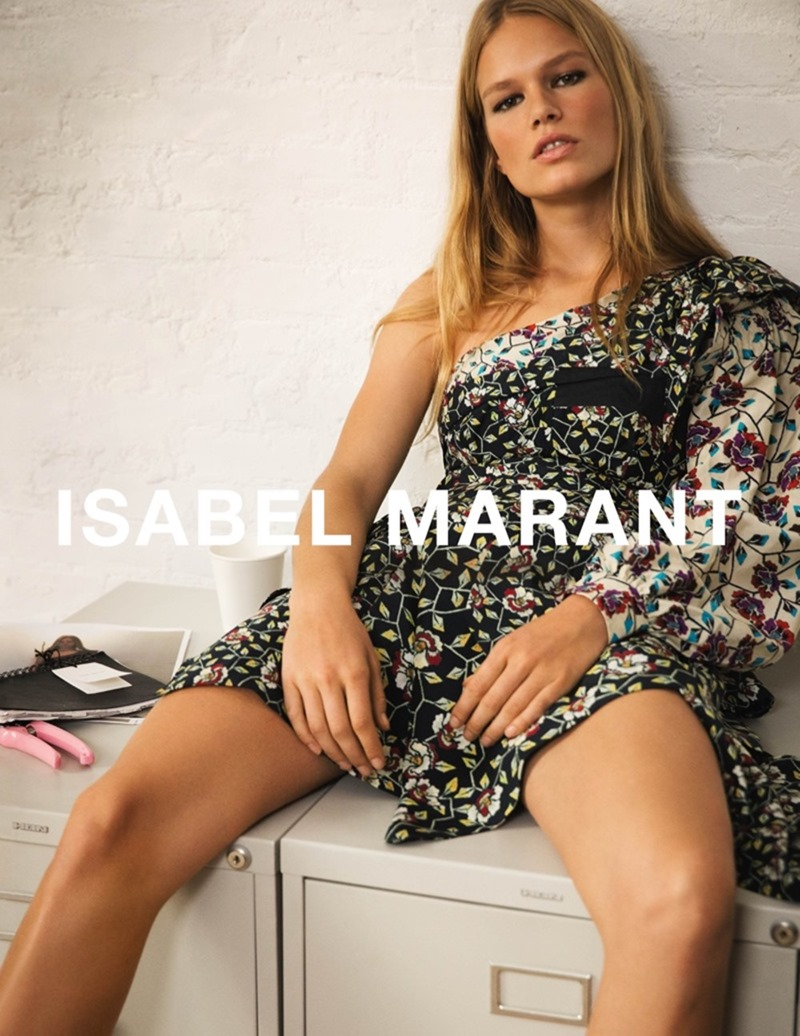 CAMPAIGN Anna Ewers by Isabel Marant Spring 2017 by Inez & Vinoodh. Geraldine Saglio, www.imageamplified.com, image Amplified4