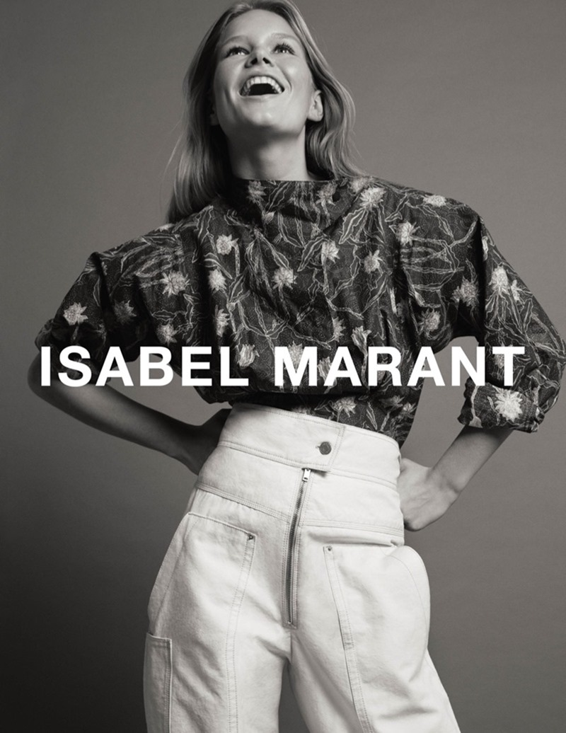 CAMPAIGN Anna Ewers by Isabel Marant Spring 2017 by Inez & Vinoodh. Geraldine Saglio, www.imageamplified.com, image Amplified2