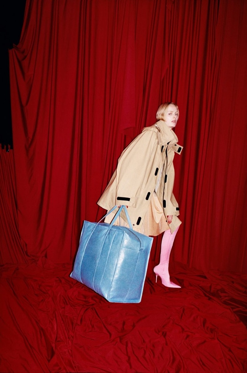 CAMPAIGN Balenciaga Spring 2017 by Harley Weir. Lotta Volkova, www.imageamplified.com, image Amplified5