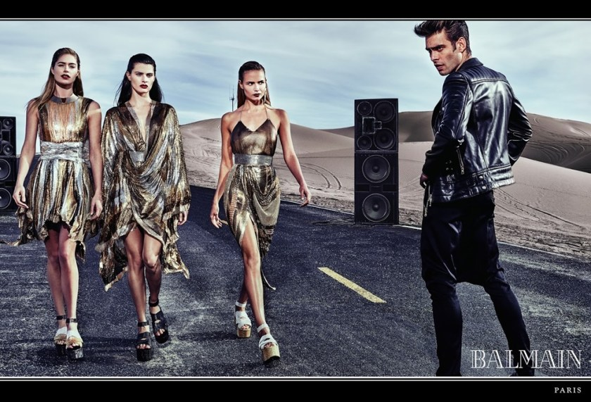 CAMPAIGN Balmain Spring 2017 by Steven Klein. www.imageamplified.com, Image Amplified7