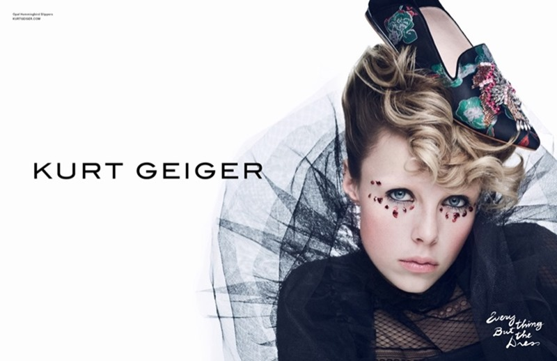 CAMPAIGN Edie Campbell for Kurt Geiger Spring 2017 by Erik Torstensson. www.imageamplified.com, image amplified2