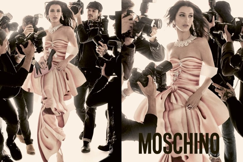 CAMPAIGN Gigi Hadid & Bella Hadid for Moschino Spring 2017 by Steven Meisel. Carlyne Nerf De Dudzeele, www.imageamplified.com, Image Amplified5