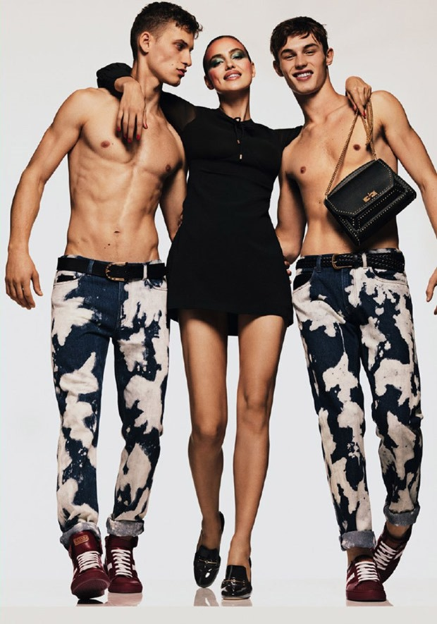 CAMPAIGN Irina Shayk, Kit Butler & David Trulik for Bally Spring 2017 by Gregory Harris. Jonathan Kaye, www.imageamplified.com, Image Amplified21