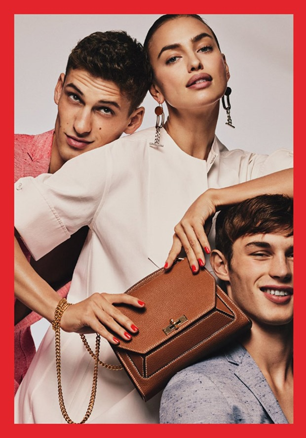 CAMPAIGN Irina Shayk, Kit Butler & David Trulik for Bally Spring 2017 by Gregory Harris. Jonathan Kaye, www.imageamplified.com, Image Amplified28