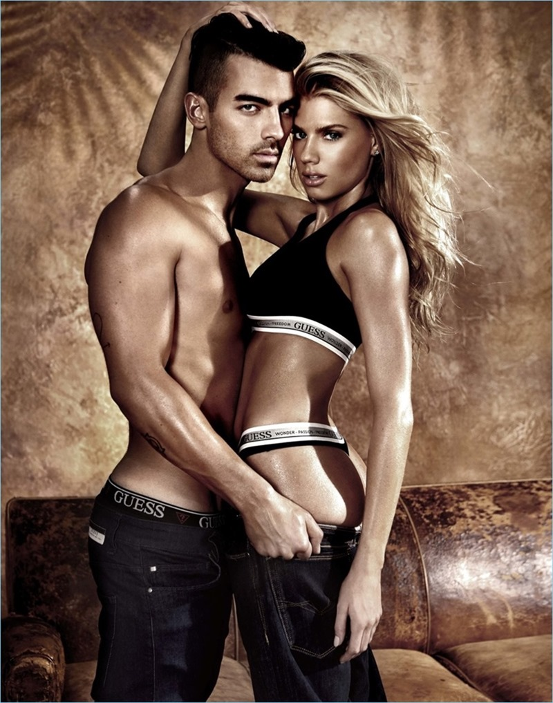 CAMPAIGN Joe Jonas & Charlotte McKinney for GUESS Spring 2017 by Yu Tsai. Avo Yermagyan, www.imageamplified.com, Image Amplified3