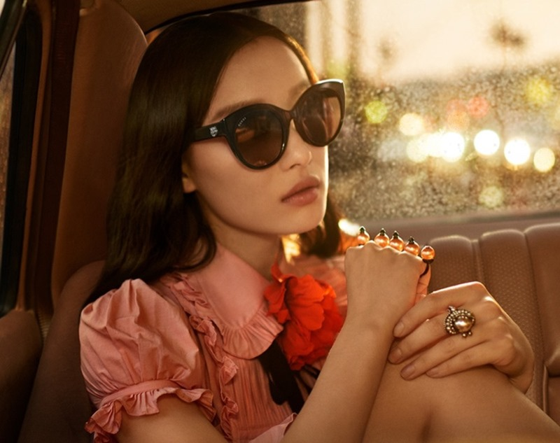 CAMPAIGN Ni Ni for Gucci Eyewear Spring 2017 by Glen Luchford, www.imageamplified.com, Image Amplified1