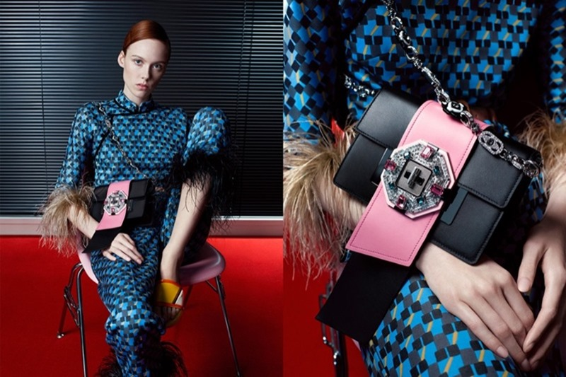 CAMPAIGN Prada Spring 2017 by Willy Vanderperre. Olivier Rizzo, www.imageamplified.com, Image Amplified9