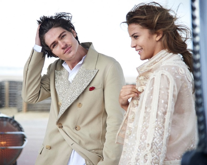 CAMPAIGN Will Peltz & Kenya Kinski Jones for Ermanno Scervino Spring 2017 by Peter Lindbergh. www.imageamplified.com, Image Amplified3