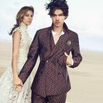 CAMPAIGN: Will Peltz & Kenya Kinski Jones for Ermanno Scervino Spring 2017 by Peter Lindbergh