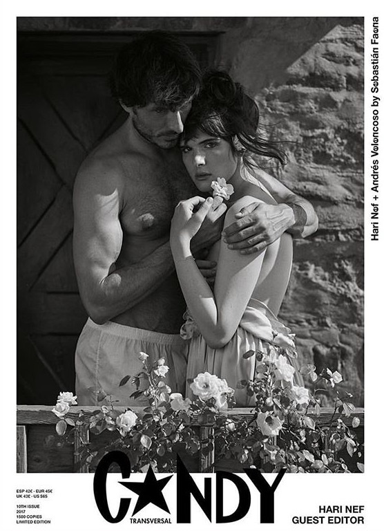 CANDY MAGAZINE Andres Velencoso by Sebastian Faena. January 2017, www.imageamplified.com, Image Amplified1