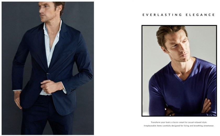 COLLECTION Shaun de Wet for Massimo Dutti 'Everlasting Elegance' 2017. www.imageamplified.com, Image amplified1