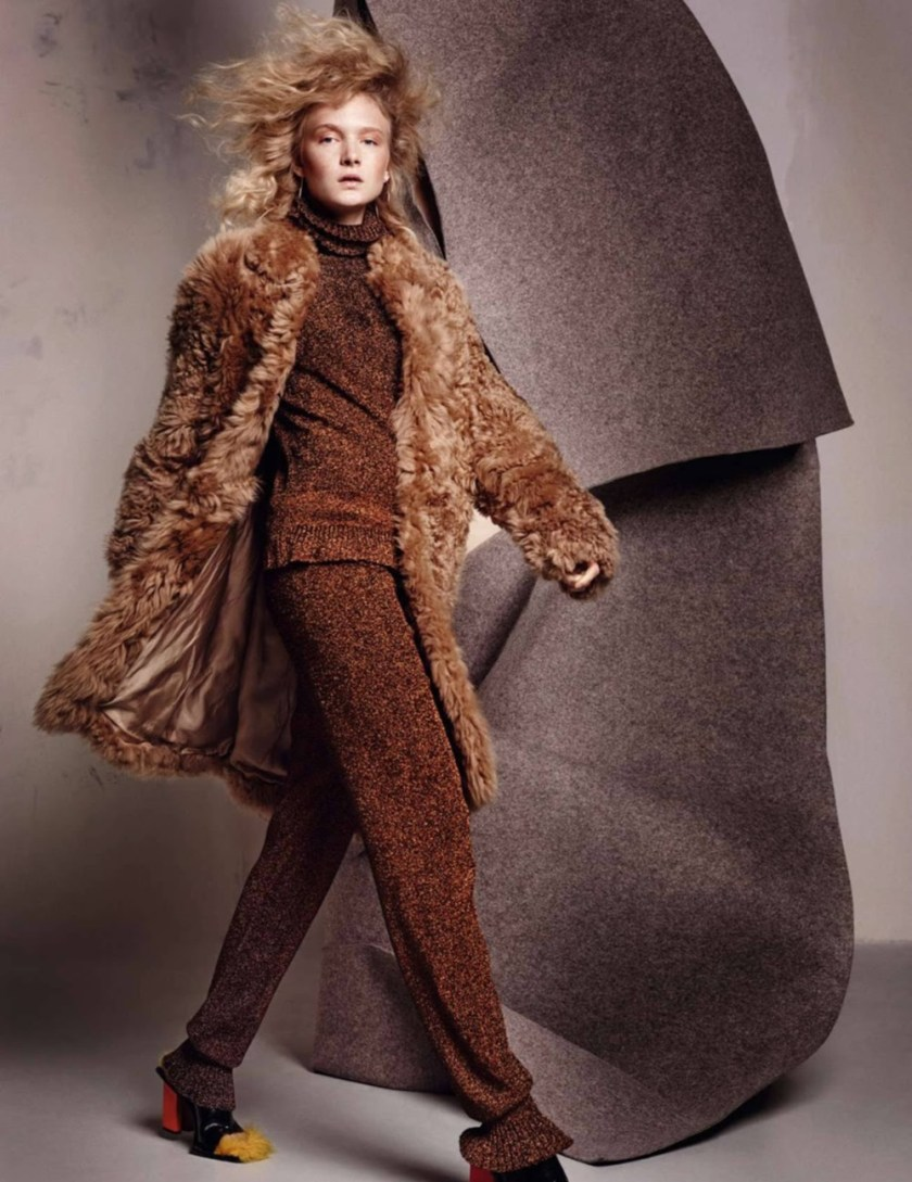 ELLE FRANCE Maja Salamon by Marcin Tyszka. Michelle Duguid, January 2017, www.imageamplified.com, Image Amplified3