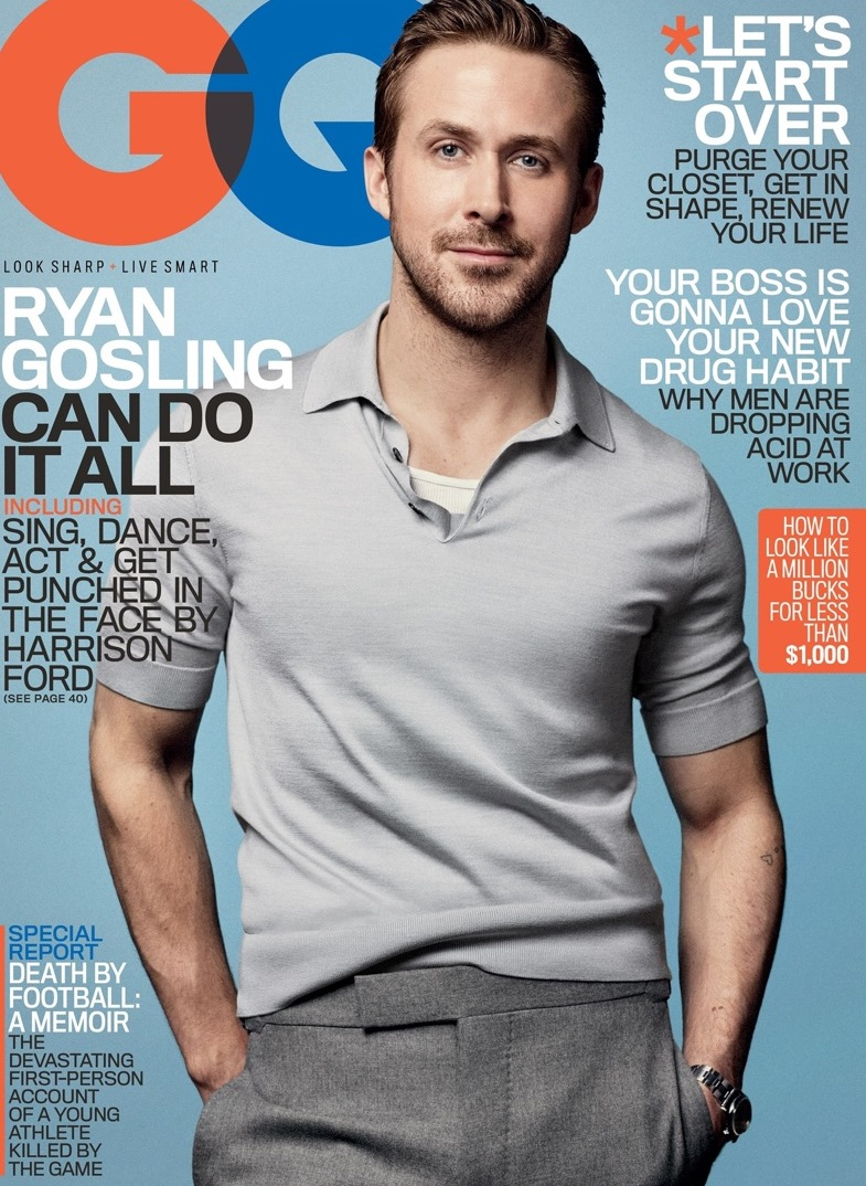 GQ MAGAZINE Ryan Gosling by Craig McDean. January 2017, www.imageamplified.com, Image Amplified1