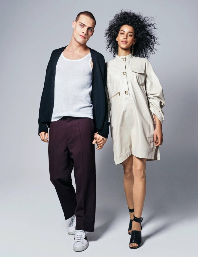 GRAZIA FRANCE Flora Carter & Henrico van Niekerk by Taghi Naderzad. Megal Grouchka, January 2017, www.imageamplified.com, Image Amplified8