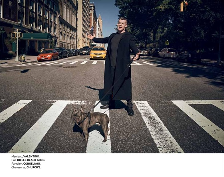 L'OFFICIEL HOMMES LEVANT Russell Tovey by Charlie Gary. Marco Manni, December 2016, www.imageamplified.com, Image Amplified5