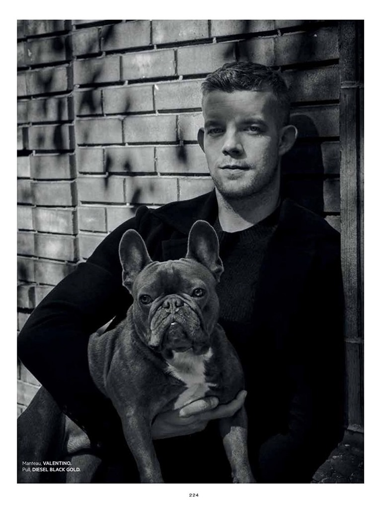 L'OFFICIEL HOMMES LEVANT Russell Tovey by Charlie Gary. Marco Manni, December 2016, www.imageamplified.com, Image Amplified2