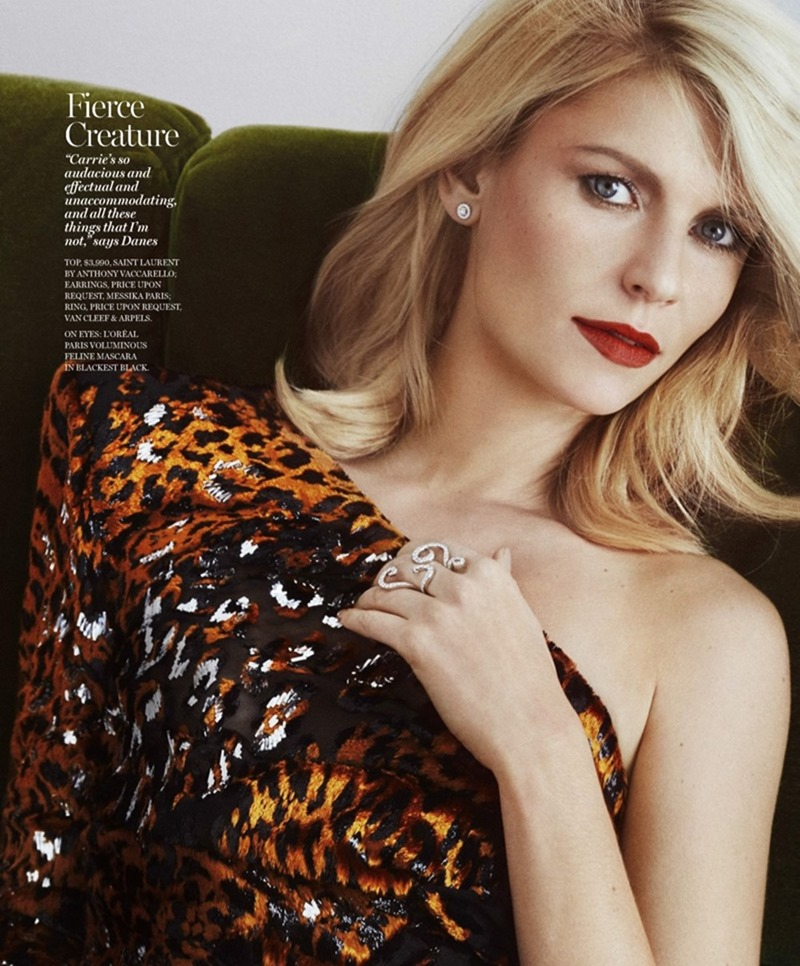 MARIE CLAIRE MAGAZINE Claire Danes by Txema Yeste. Alison Edmond, February 2017, www.imageamplified.com, Image Amplified4