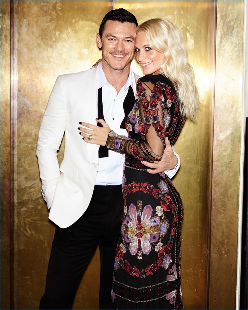 THE SUNDAY TIMES STYLE Luke Evans & Poppy Delevigne by Aitken Jolly. Flossie Saunders, Michael Hennegan, Fall 2016, www.imageamplified.com, image Amplified4