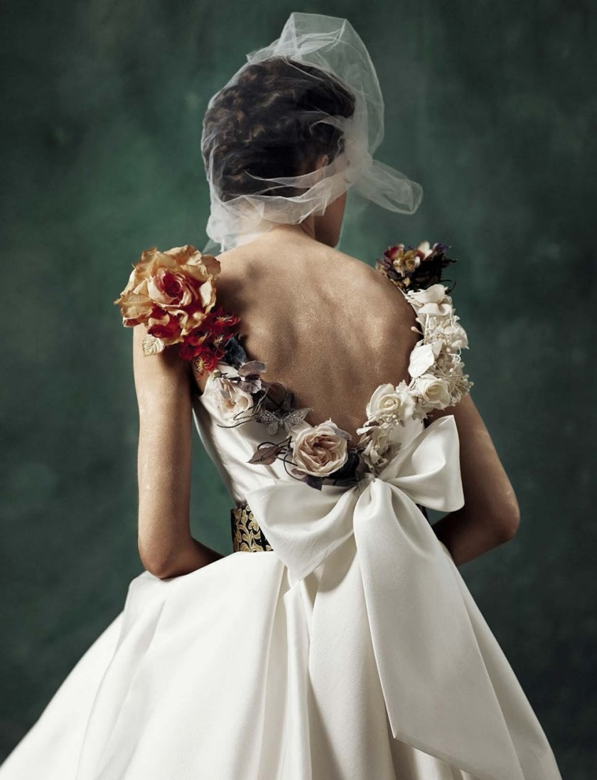VOGUE ITALIA SPOSA Marylou Moll by Kiki Xue. Elisa Zaccanti, January 2017, www.imageamplified.com, Image Amplified4