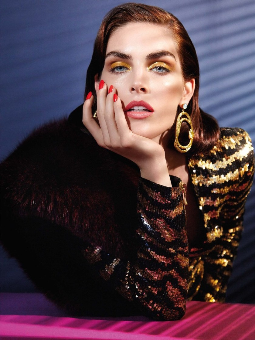 VOGUE TAIWAN Hilary Rhoda by Enrique Vega. Stacey Cunningham, January 2017, www.imageamplified.com, Image Amplified5