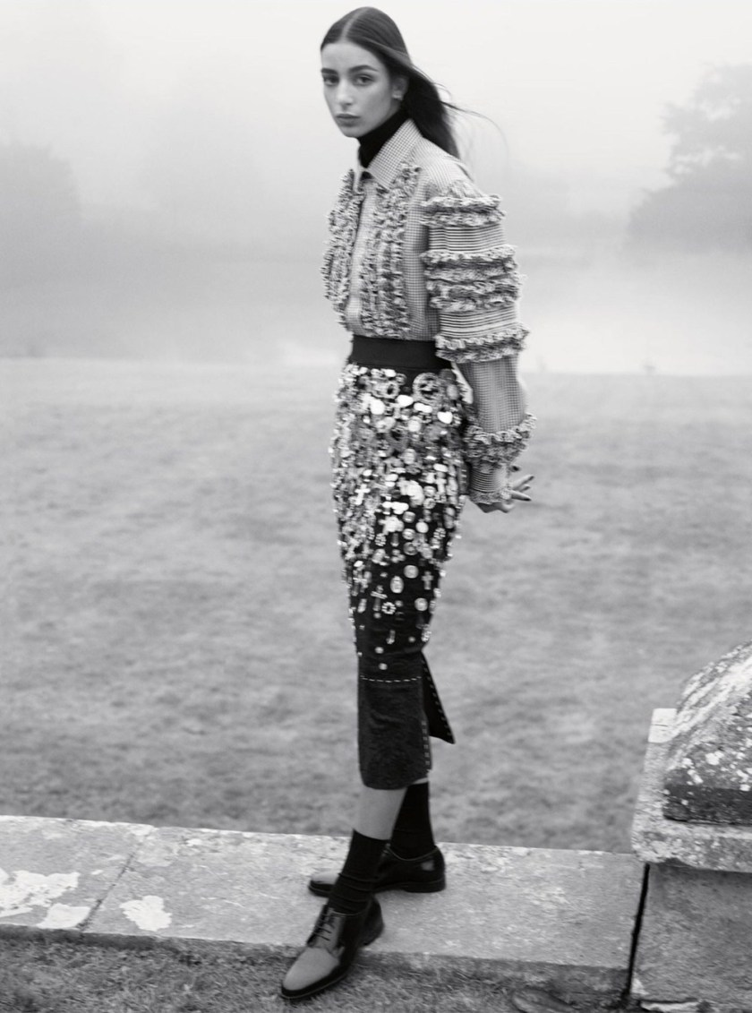 VOGUE UK A Month in the Country by Karim Sadli. Francesca Burns, February 2017, www.imageamplified.com, Image Amplified5