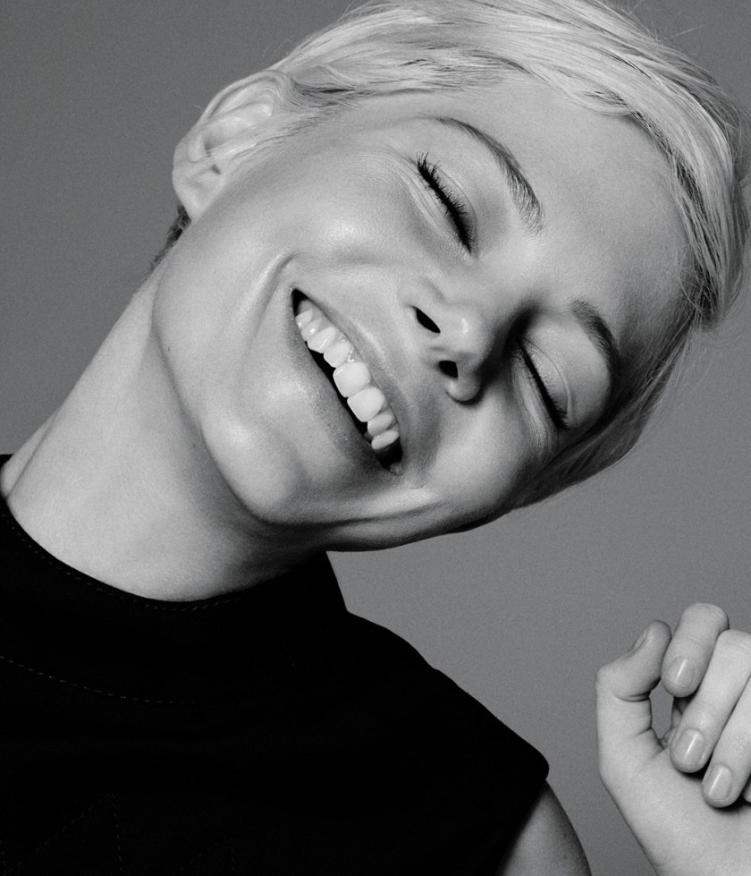 WSJ MAGAZINE Michelle Williams by Daniel Jackson. Clare Richardson, February 2017, www.imageamplified.com, Image Amplified1