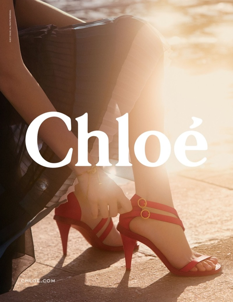 CAMPAIGN Luna Bijl & Ulrikke Hoyer for Chloe Spring 2017 by Charlotte Wales. Jane How, www.imageamplified.com, Image Amplified6