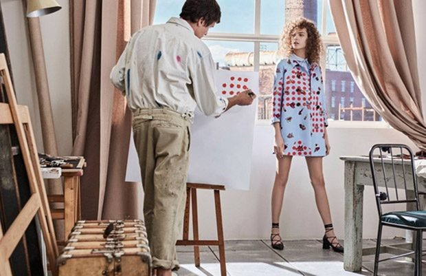 CAMPAIGN Mina Cvetkovic & Adrian Cardoso for iBlues Spring 2017 by Giampaolo Sgura. Vittoria Cerciello, www.imageamplified.com, Image Amplified8