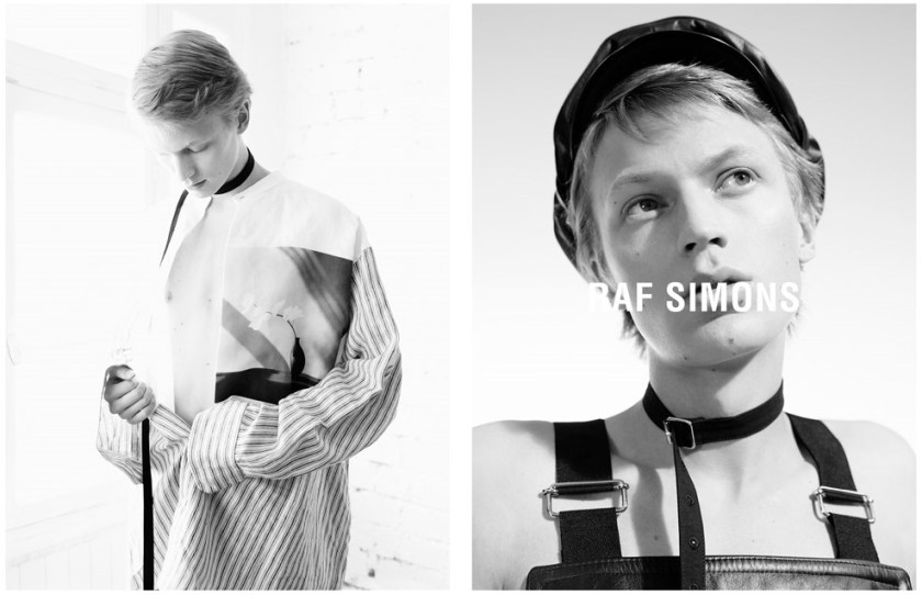 CAMPAIGN Raf Simons Spring 2017 by Willy Vanderperre. Olivier Rizzo, www.imageamplified.com, Image Amplified1