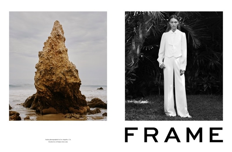 CAMPAIGN Sasha Pivovarova for Frame Spring 2017 by Erik Torstensson, www.imageamplified.com, Image Amplified1