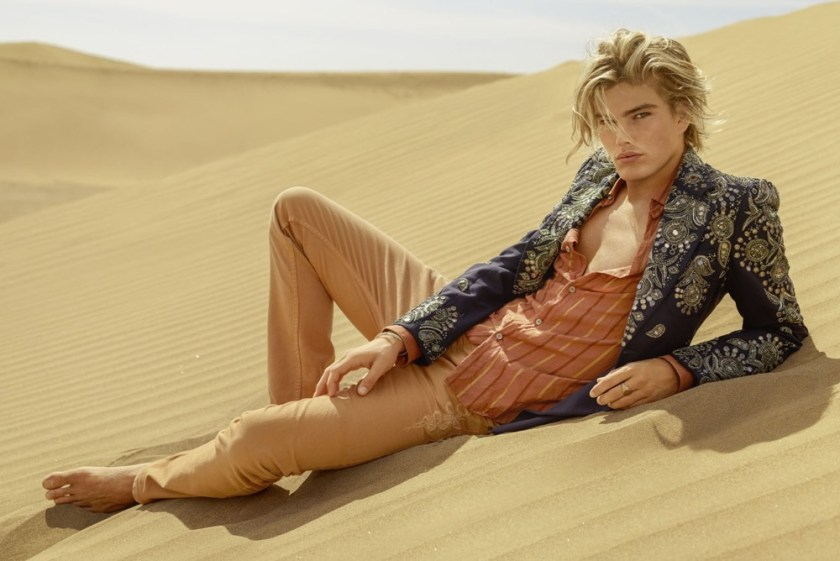 CAMPAIGN Stella Maxwell & Jordan Barrett for Roberto Cavalli Spring 2017 by Morelli Brothers. www.imageamplified.com, Image Amplified7