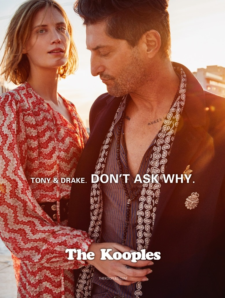 CAMPAIGN Tony Ward & Drake Burnette for The Kooples Spring 2017. www.imageamplified.com, Image Amplified4