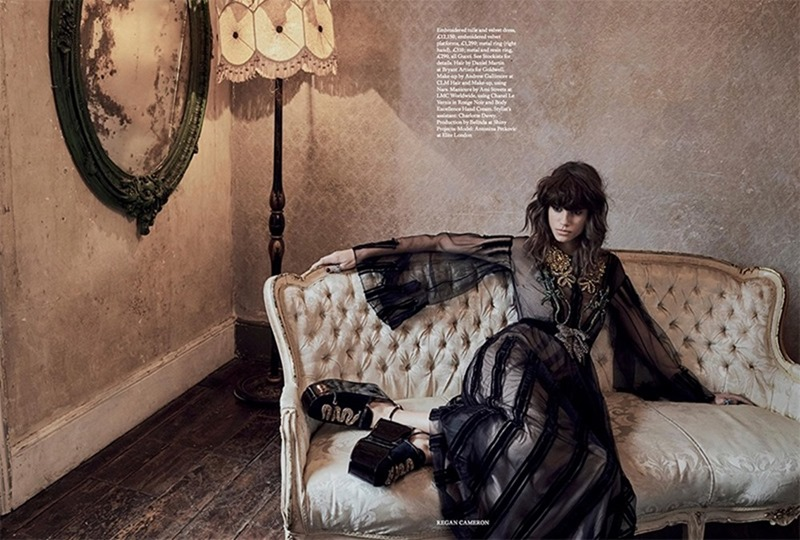 HARPER'S BAZAAR UK Antonina Petkovic by REgan Cameron. Miranda Almond, March 2017, www.imageamplified.com, Image Amplified12