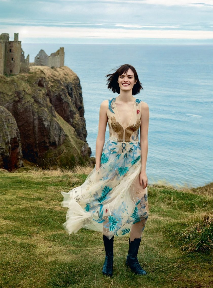 HARPER'S BAZAAR UK Sam Rollinson by Agata Pospieszynska. Charlie Harrington, March 2017, www.imageamplified.com, Image Amplified1