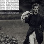 L'UOMO VOGUE: Pierre Niney by Norman Jean Roy