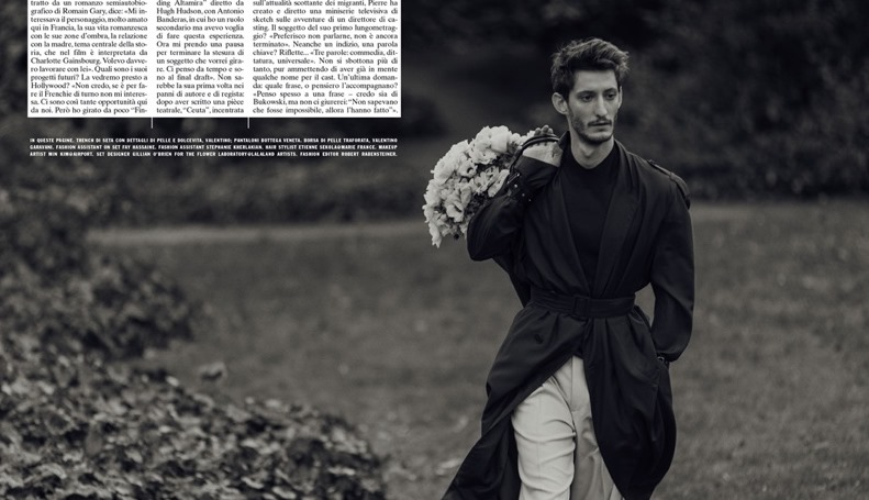L'UOMO VOGUE Pierre Niney by Norman Jean Roy. Robert Rabensteiner, Spring 2017, www.imageamplified.com, Image Amplified7