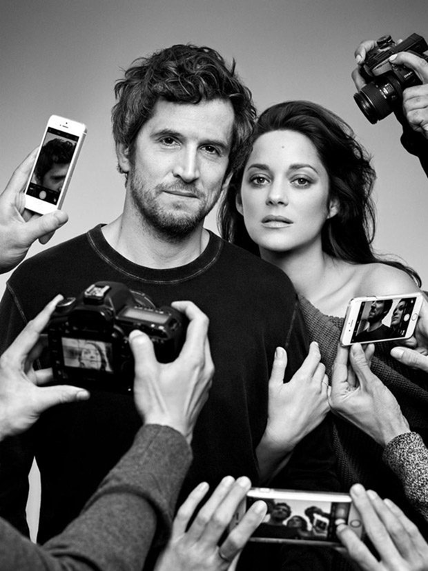 MADAME FIGARO Marion Cotillard & Guillaume Canet by Jean-Baptiste Mondino. Valentin Mordacq, Spring 2017, www.imageamplified.com, Image Amplified1