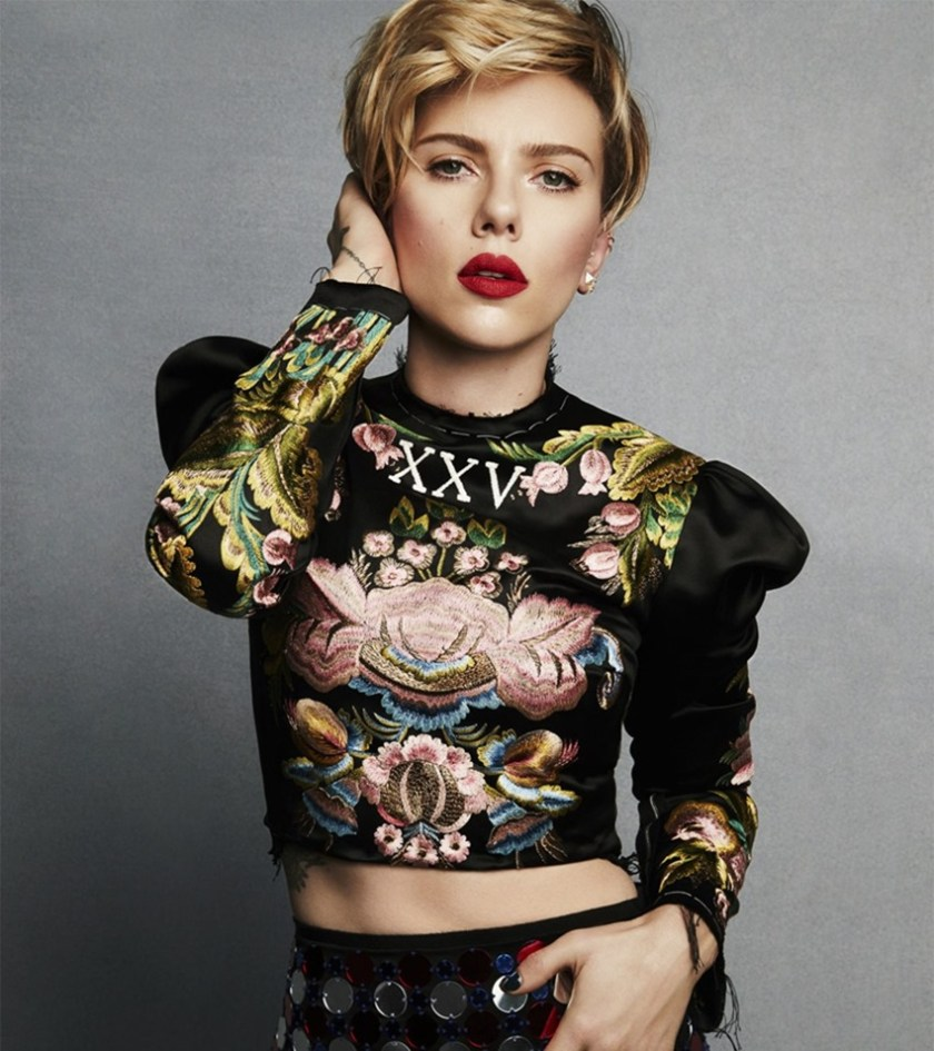 MARIE CLAIRE MAGAZINE Scarlett Johansson by Tesh. Leslie Fremar, March 2017, www.imageamplified.com, Image Amplified6
