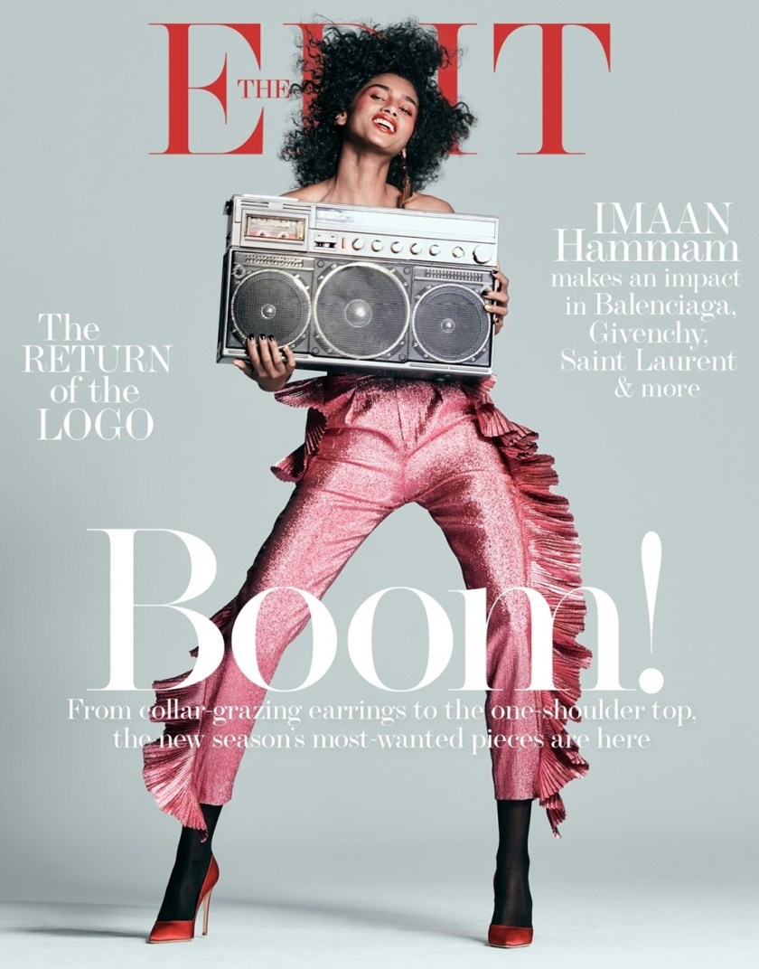 THE EDIT Imaan Hammam by Chris Colls. Tracy Taylor, February 2017, www.imageamplified.com, Image Amplified1