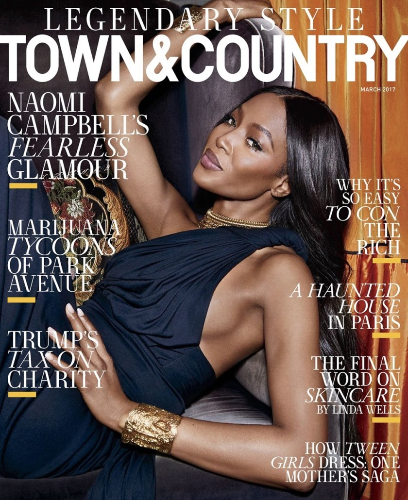 TOWN & COUNTRY Naomi Campbell by Max Vadukul. Nicolletta Santoro, March 2017, www.imageamplified.com, Image Amplified1