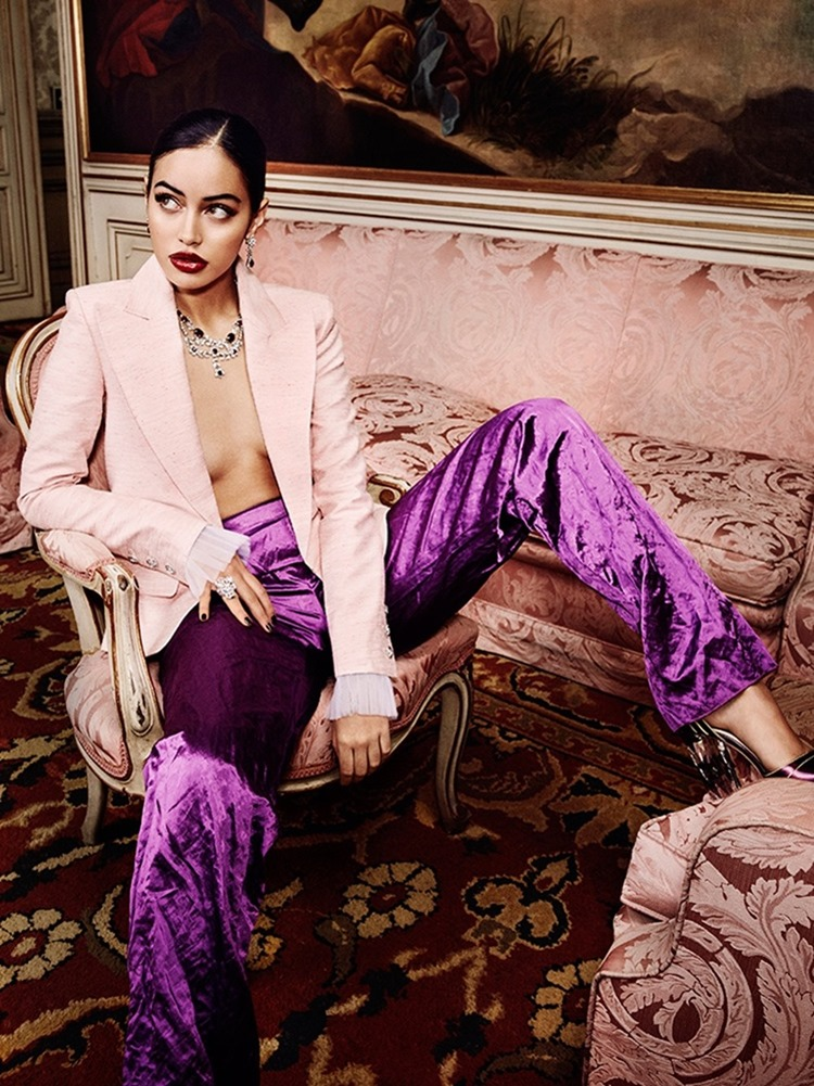 VANITY FAIR SPAIN Cindy Kimberly by Alex Bramall. Carla Aguilar, January 2017, www.imageamplified.com, Image Amplified2