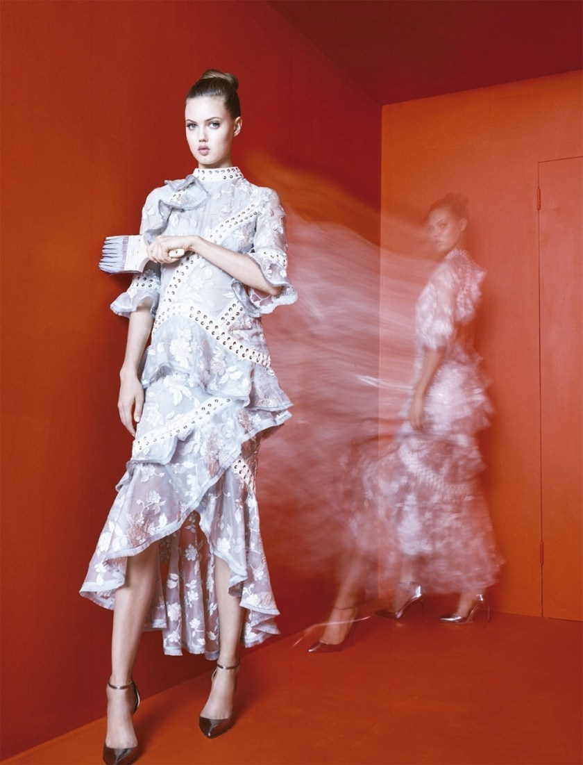 BERGDORF GOODMAN Lindsey Wixson by Karen Collins. Anne Christensen, Spring 2017, www.imageamplified.com, Image Amplified4