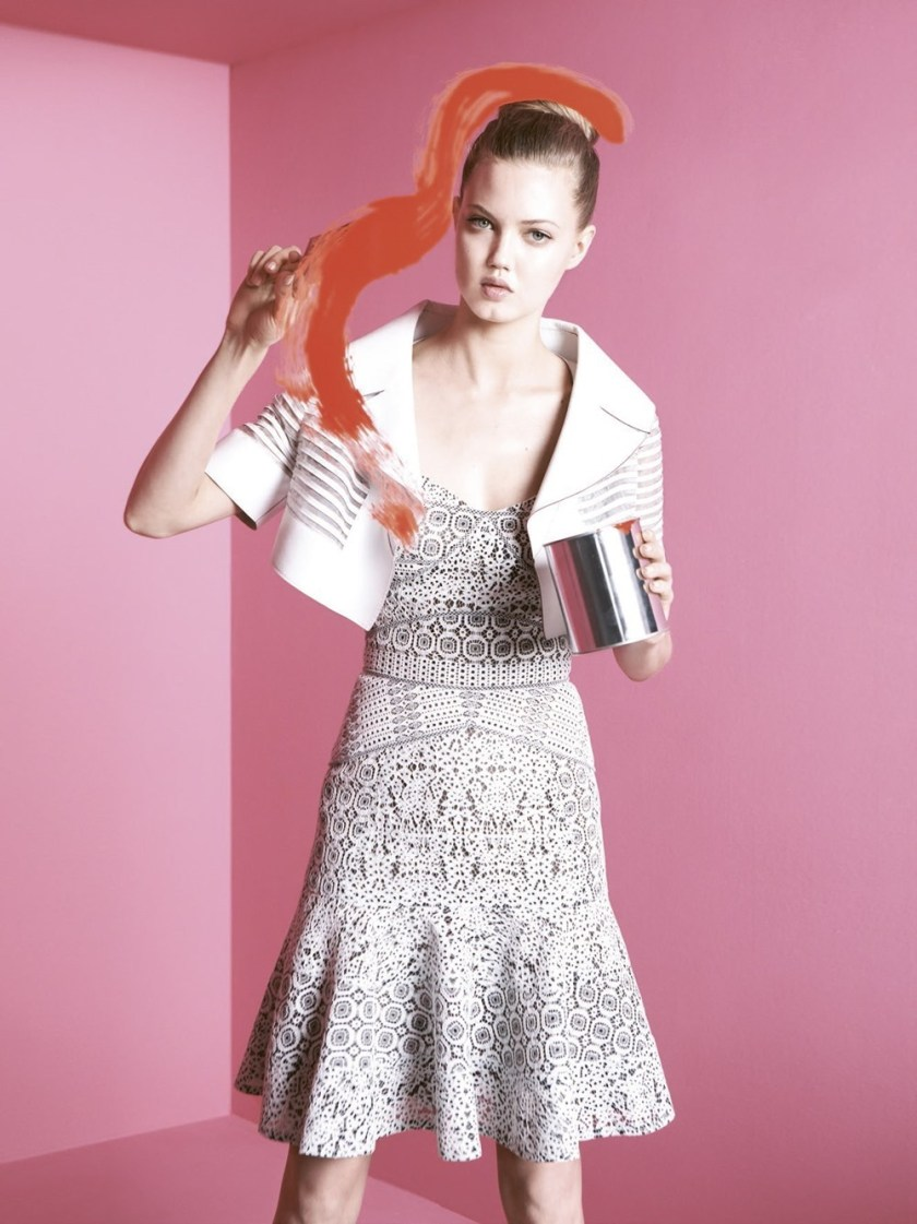 BERGDORF GOODMAN Lindsey Wixson by Karen Collins. Anne Christensen, Spring 2017, www.imageamplified.com, Image Amplified8