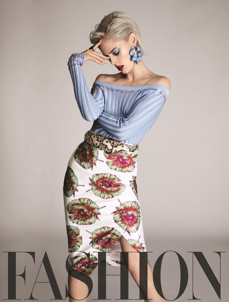 FASHION MAGAZINE Coco Rocha by Owen Bruce. George Antonopoulos, April 2017, www.imageamplified.com, Image Amplified1