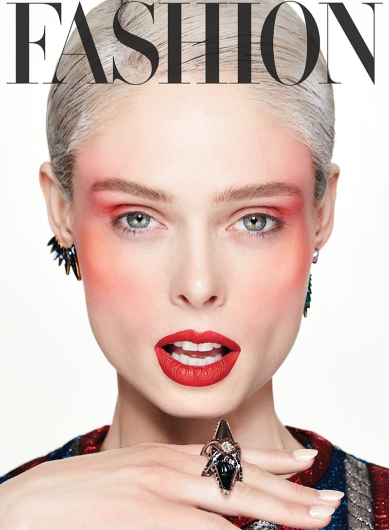 FASHION MAGAZINE Coco Rocha by Owen Bruce. George Antonopoulos, April 2017, www.imageamplified.com, Image Amplified6