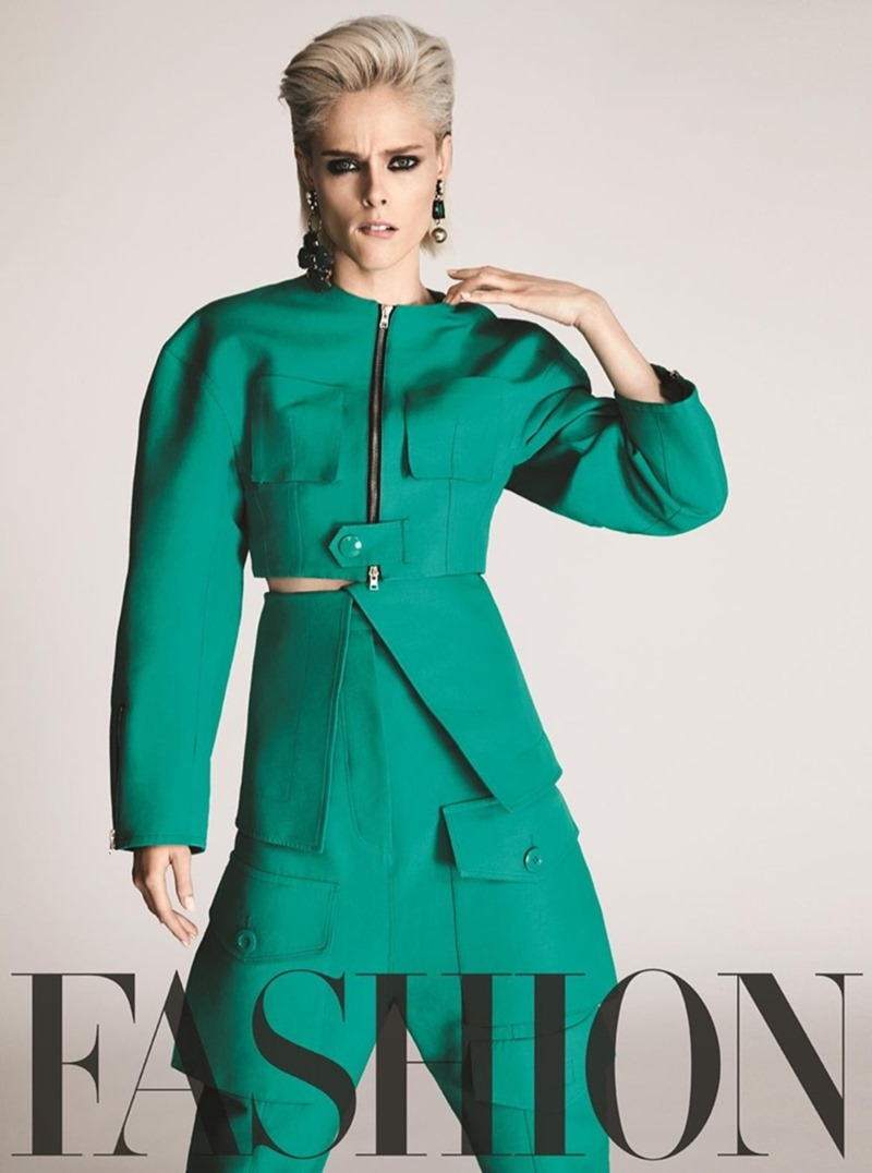 FASHION MAGAZINE Coco Rocha by Owen Bruce. George Antonopoulos, April 2017, www.imageamplified.com, Image Amplified9