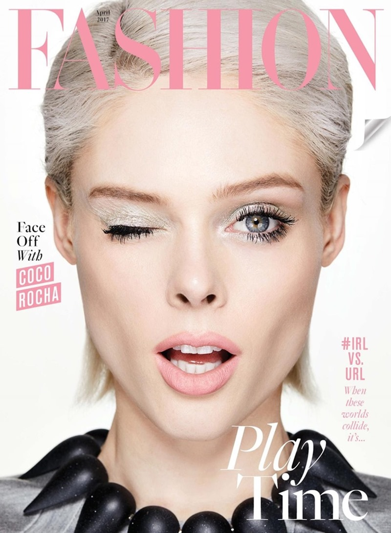 FASHION MAGAZINE Coco Rocha by Owen Bruce. George Antonopoulos, April 2017, www.imageamplified.com, Image Amplified11