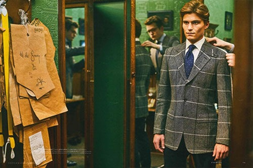 GENTLEMANS JOURNAL Oliver Cheshire by Adam Russell. Holly Macnaghten, Spring 2017, www.imageamplified.com, Image Amplified3