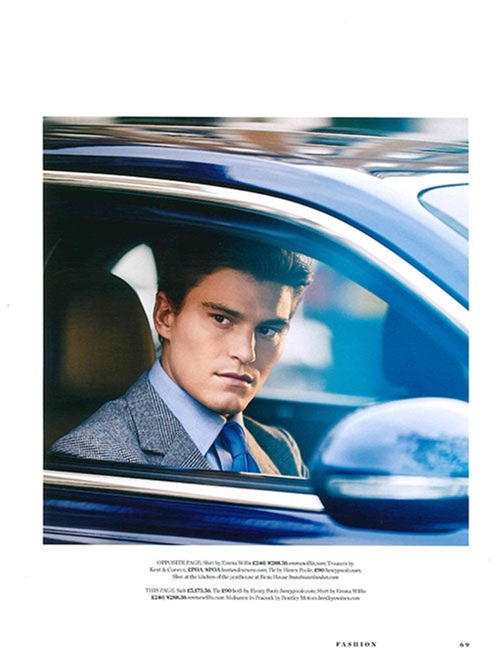 GENTLEMANS JOURNAL Oliver Cheshire by Adam Russell. Holly Macnaghten, Spring 2017, www.imageamplified.com, Image Amplified7